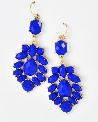 Click Here To Be Taken The Royal Blue Dangle Earrings Page