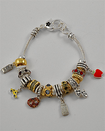 Click Here To Be Taken The New York Pandora Style Charm Bracelet Page